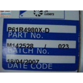 PAT/JK Flash lamp P61R4980X-D Part Number OEM