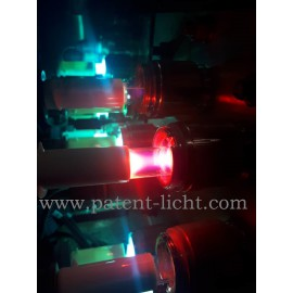 Aquafine DI water UV lamp become green